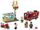 Конструктор LEGO 60214 City Fire Пожар в бургер-кафе